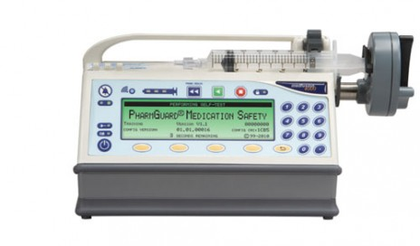 The Medfusion 4000 Syringe pump from Smiths Medical
