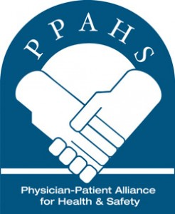 Logo for Physician-Patient Aliiance for Health & Safety