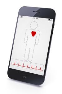Mobile Health App Courtesy Dreamstime