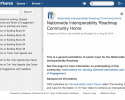 Nationwide Interoperability Roadmap Community Homepage