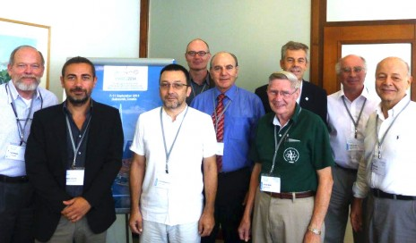 Photo of CED board members in Croatia