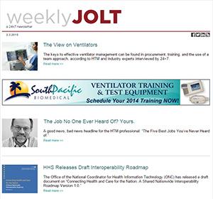 Weekly Jolt
