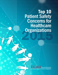 Patient safety 2015